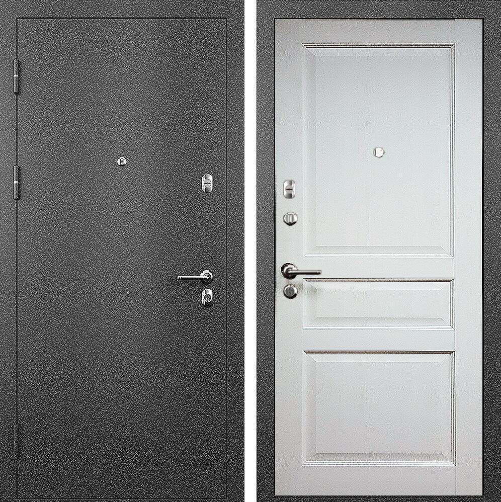 Коллекция Входные двери Статус М 531 Престиж Дуб белый