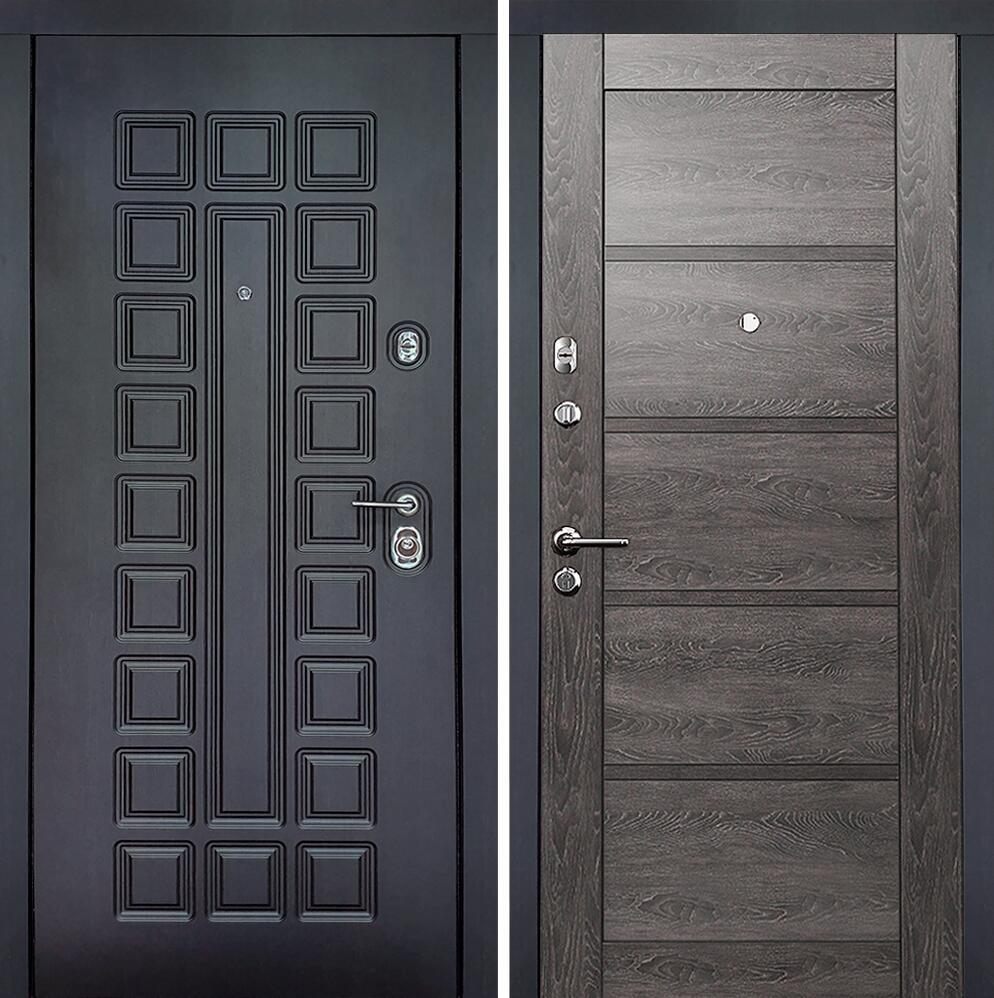 Коллекция Входные двери Статус М 112 Престиж Люкс Дуб патина