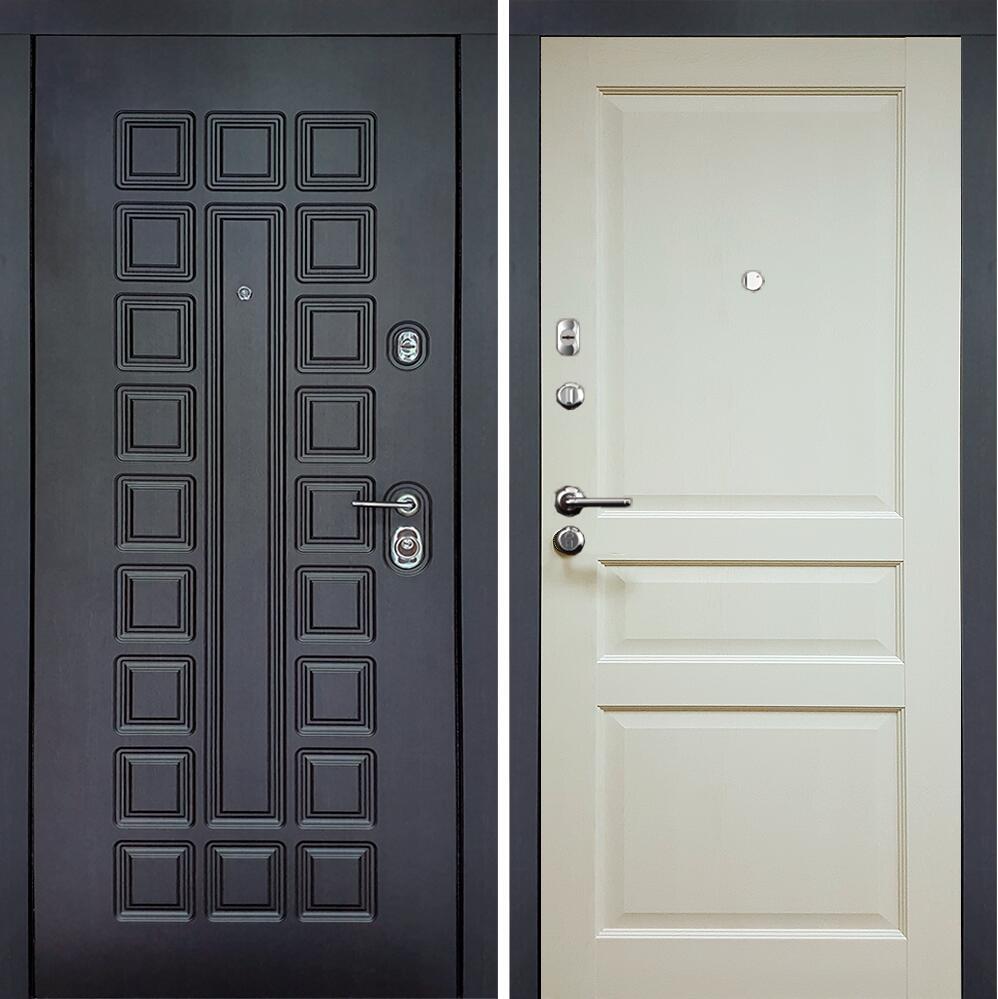 Коллекция Входные двери Статус М 531 Престиж Люкс Слоновая кость