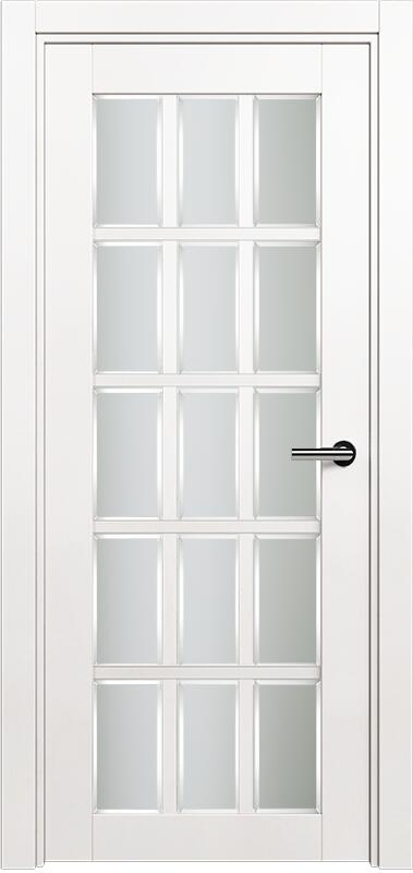 Коллекция Optima 124 Белый   лёд + сатинато белое фацет