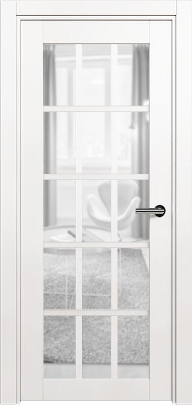 Коллекция Optima 124 Белый   лёд + триплекс прозрачный