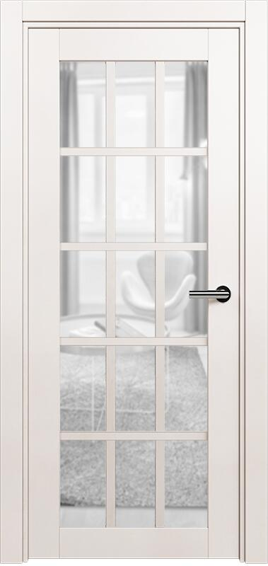 Коллекция Optima 124 Белый жемчуг + триплекс прозрачный