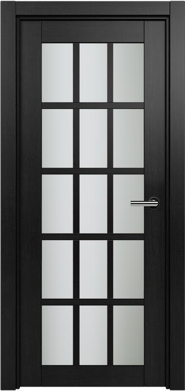 Коллекция Optima 124 Дуб черный + сатинато белое