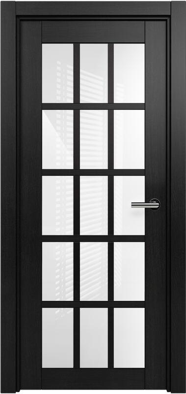 Коллекция Optima 124 Дуб черный + триплекс белый