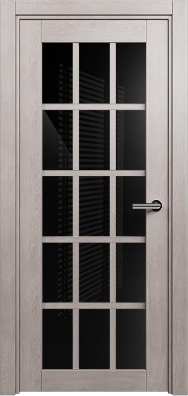 Коллекция Optima 124 Дуб   серый + триплекс черный