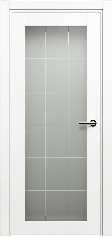 Коллекция Optima 125 Белый   лёд + Английская решетка сатинато белое