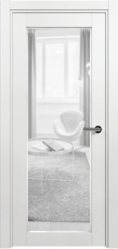 Коллекция Optima 125 Белый   лёд + сатинато прозрачное фацет