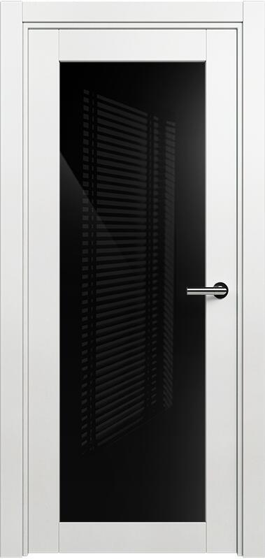 Коллекция Optima 125 Белый   лёд + триплекс черный