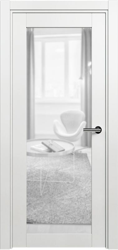 Коллекция Optima 125 Белый   лёд + триплекс прозрачный