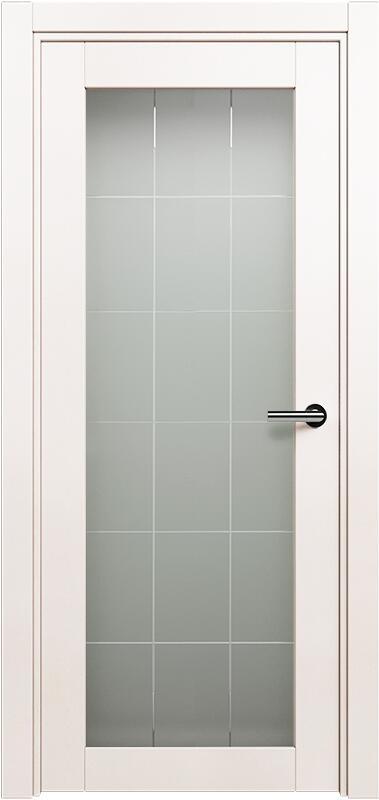 Коллекция Optima 125 Белый жемчуг + Английская решетка сатинато белое