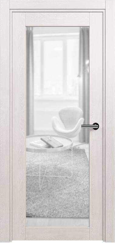 Коллекция Optima 125 Дуб белый + триплекс прозрачный