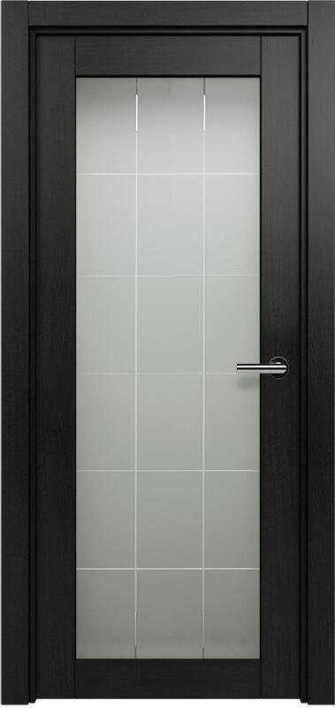 Коллекция Optima 125 Дуб черный + Английская решетка сатинато белое