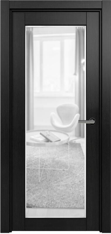 Коллекция Optima 125 Дуб черный + сатинато прозрачное фацет