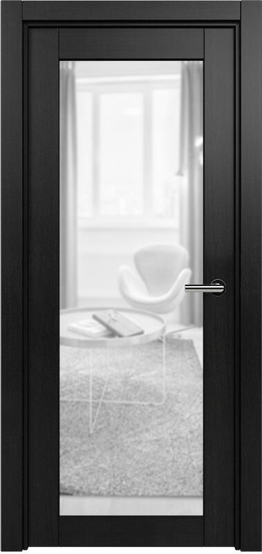 Коллекция Optima 125 Дуб черный + сатинато прозрачное