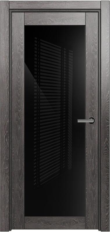 Коллекция Optima 125 Дуб патина + триплекс черный