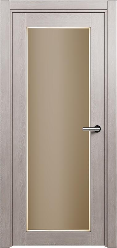 Коллекция Optima 125 Дуб   серый + Сатинато бронза фацет