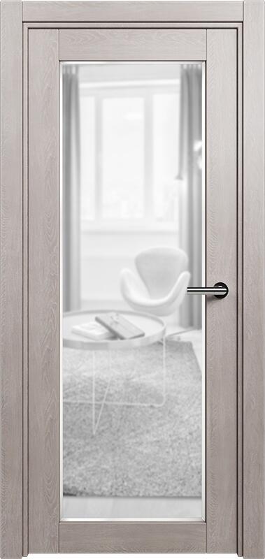 Коллекция Optima 125 Дуб   серый + сатинато прозрачное фацет