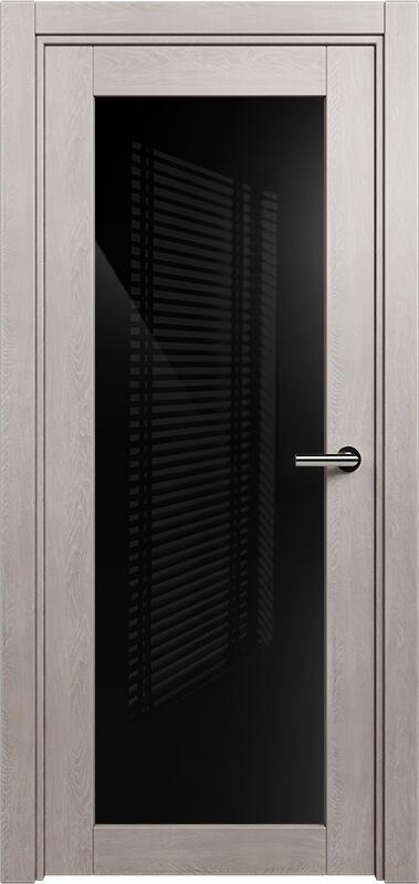 Коллекция Optima 125 Дуб   серый + триплекс черный