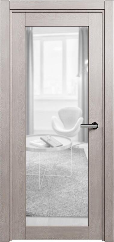 Коллекция Optima 125 Дуб   серый + триплекс прозрачный