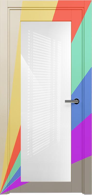 Коллекция Optima 125 Эмаль. Стандарт - RAL 7004,7015,1015,1019,9003.  Нестандарт - любой цвет по RAL. + триплекс белый