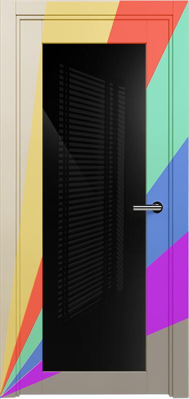Коллекция Optima 125 Эмаль. Стандарт - RAL 7004,7015,1015,1019,9003.  Нестандарт - любой цвет по RAL. + триплекс черный
