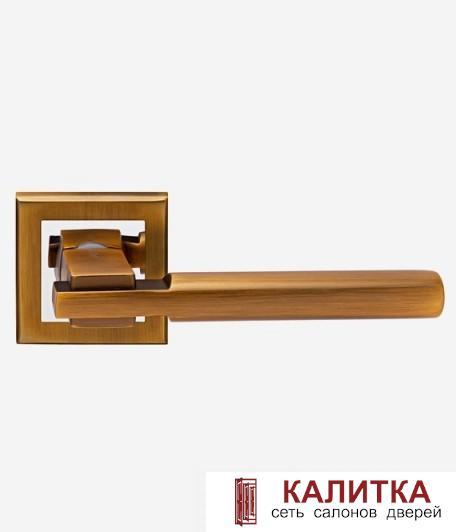 АКЦИЯ Ручка дверная  на квадратном основании H-18038 BRISA AN кофе TD185221