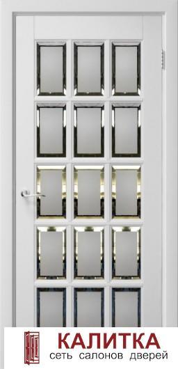 Английская решетка 15  белый жемчуг 2000*800 ДО пескоструйный фацет  (2)