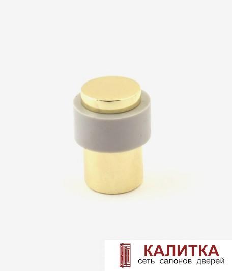 ограничитель напольный DS-0014 G золото