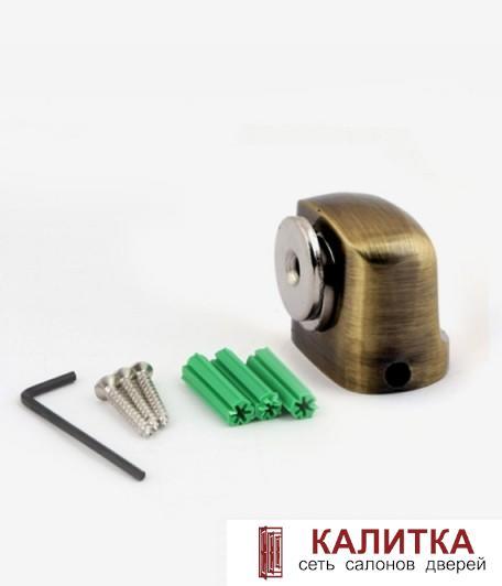 ограничитель напольный DS-2751-M- AB бронза магнитный