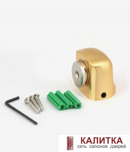 ограничитель напольный DS-2751-М- GM золото матовое магнитный