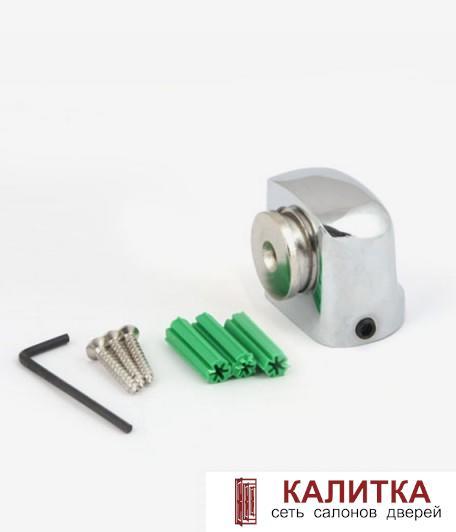 ограничитель напольный DS-2751-М- СR хром магнитный