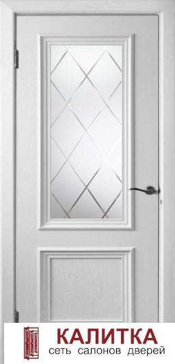 Бергамо-4 эм.белая стекло №15  ДО 20-80