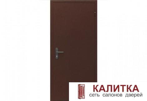 ДПМ-01 ЕI60 860*2050 RAL8017(коричневая) наружное левое