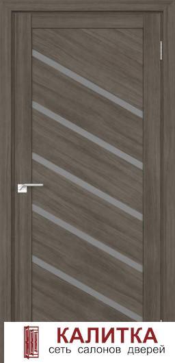Эко-шпон Сингапур-5 серый кедр стекло матовое 800