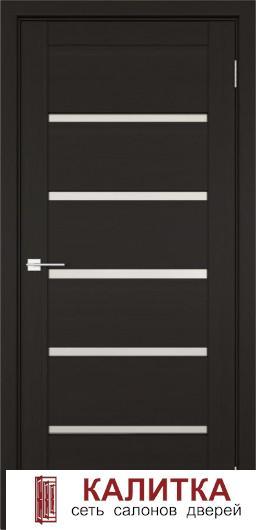 Эко-шпон Вена  темный кипарис 2000*800 стекло матовое