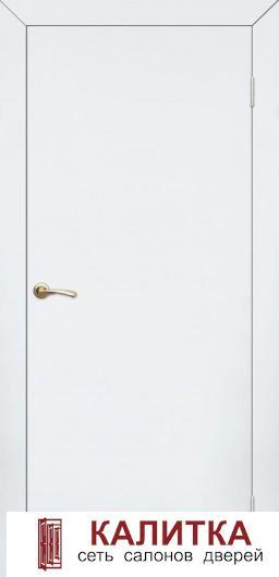 КАПЕЛЬ  гладкая белая (дв.полотно+короб ТЕЛЕСКОП) ДГ 21-7