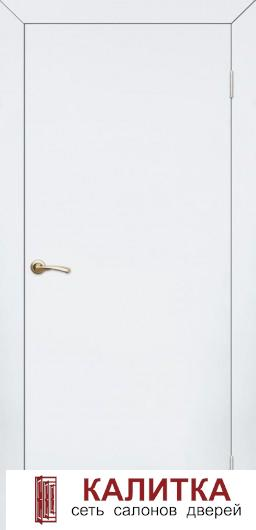 КАПЕЛЬ  гладкая белая (дв.полотно+короб ТЕЛЕСКОП) ДГ 21-9