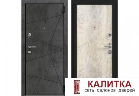 Лофт Securemme Камень Темно-Серый / Камень Светло-Серый  870х2050 левая