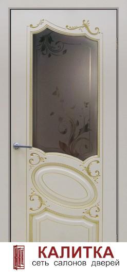Маркиз (эмаль белая патина золото) С8