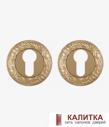 Накладка под цилиндр FUARO на круглом основании ET SM GOLD-24 (золото)
