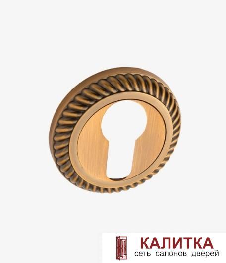 Накладка под цилиндр  на круглом основании РЕЗНАЯ ET AL 17 CF кофе