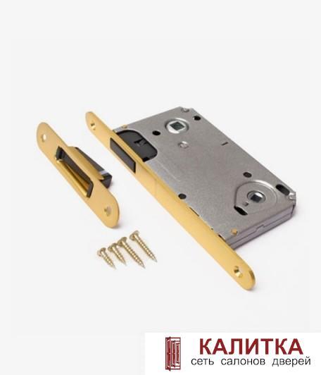 ОПТ Замок  5300M WC GM матовое золото магнитный сантехнический