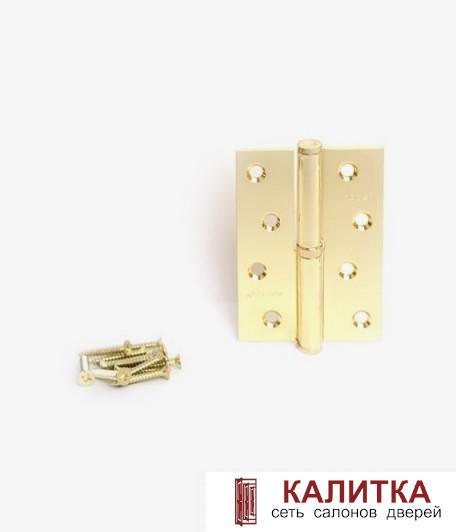 Петля разъемная  100*70*3 G L золото левая