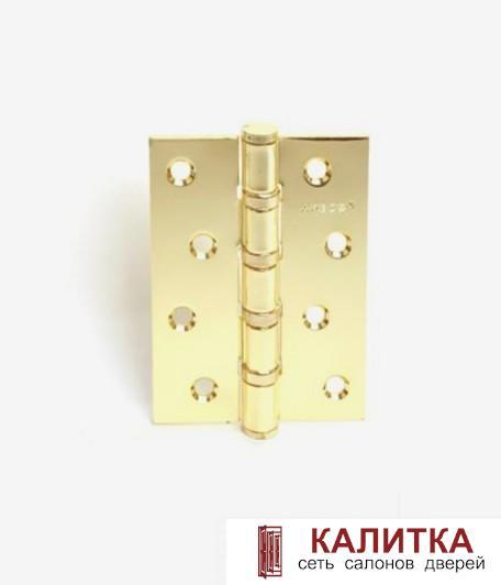 Петля универсальная  100*70 B4 G (4 подшипника) золото