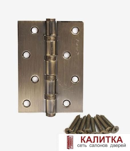 Петля универсальная  100*70*2.5 -В4 AB (4 подшипника) бронза