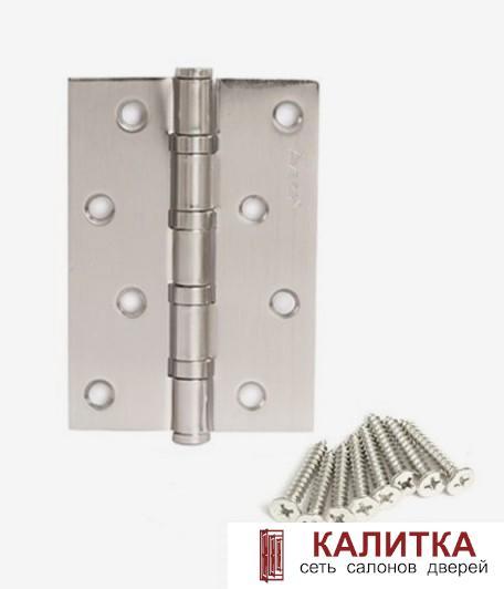 Петля универсальная  100*70*2.5 -В4 NIS (4 подшипника) никель