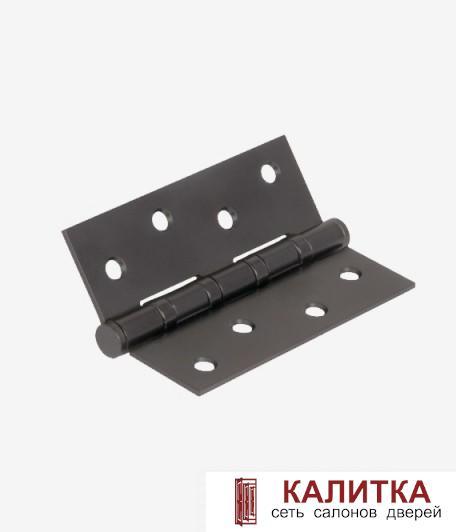 Петля универсальная  100-4S 100*75*2,5 MBN черный никель матовый