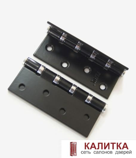 Петля универсальная RENZ (100*75*2.5) 100-4BB FH B/CP черный/хром