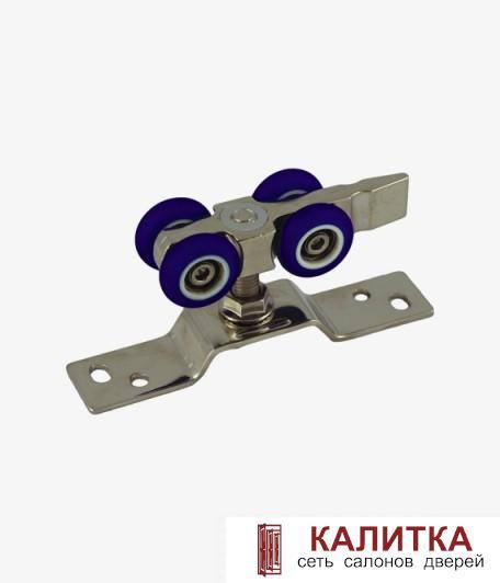 Ролики 2-х колесные DR03/каучуковые