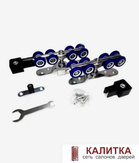 Ролики 4-х колесные R3017 прорезиненный пластик